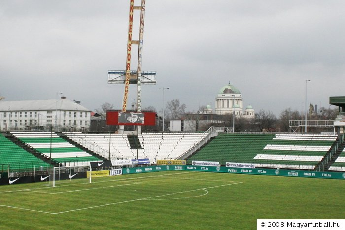 Budapest, IX. ker., Albert Flórián Stadion: képek, adatok