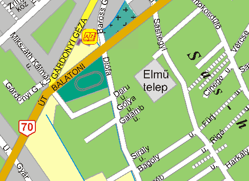 diósd térkép Diósd, Régi Diósdi Sportpálya: képek, adatok • stadionok  diósd térkép