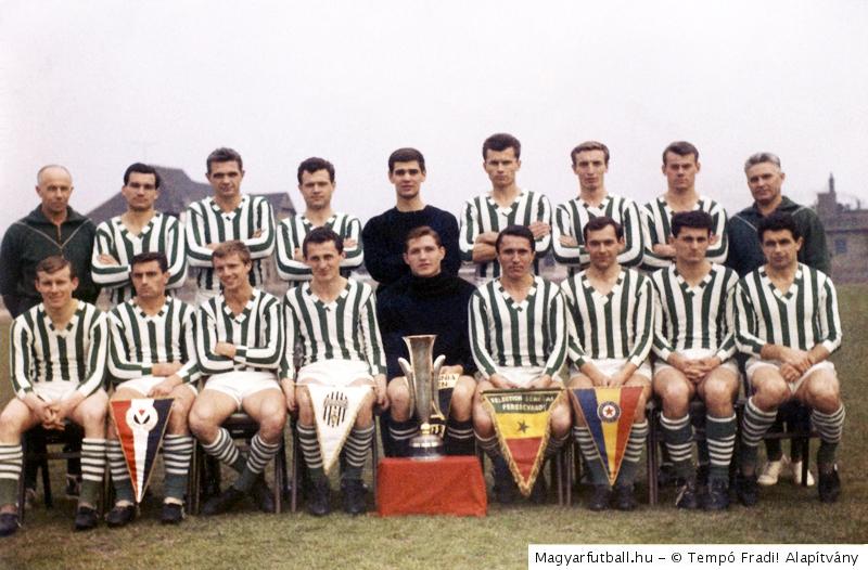 juventus fc ferencvarosi tc 0 1 1965 06 23 kepek adatok vasarvarosok kupaja donto magyarfutball hu juventus fc ferencvarosi tc 0 1